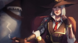 Ashe Overwatch Overwatch 1920x1357 Wallpaper