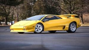 Car Lamborghini Lamborghini Diablo Sport Car Supercar Yellow Car 3872x2583 wallpaper