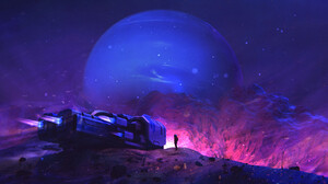 Artwork Fantasy Art Science Fiction Space Spaceship Planet Astronaut 1920x960 Wallpaper