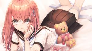 Girl Cake Teddy Bear 5784x4152 Wallpaper