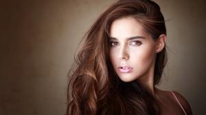 Face Brunette Brown Eyes 4096x2560 Wallpaper