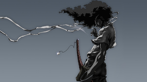 Anime Samurai Afro Samurai 1920x1080 Wallpaper