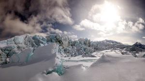 Nature Winter Snow Ice Cold Landscape 3840x2160 wallpaper