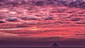 France Cloud Island Sky Sunset Horizon 2048x1365 Wallpaper