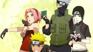 Naruto Naruto Uzumaki Sakura Haruno Sai Naruto Kakashi Hatake 2560x1780 Wallpaper