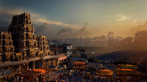 Video Game Art Video Games 4Gamers Screen Shot India Uncharted Uncharted The Lost Legacy City Landsc 1920x1080 wallpaper