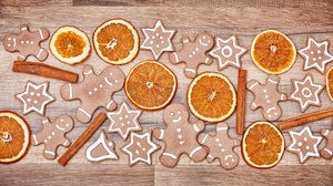 Christmas Cinnamon Cookie Gingerbread 6500x4338 Wallpaper
