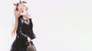 Anime Anime Girls Simple Background Fate Series Fate Grand Order Tohsaka Rin Ereshkigal Fate Grand O 2560x1440 wallpaper