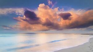 Cloud Earth Horizon Ocean Sea Sunset 2300x1533 Wallpaper