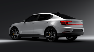 Polestar Polestar 2 Volvo 3D Visualization Vred CGi Digital Art Car Render 7680x4320 wallpaper