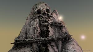Fantasy Art 3D Graphics 3D Ancient 1920x1080 Wallpaper