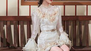 IU Portrait Asian Korean K Pop High Heels Dress 1499x2250 Wallpaper