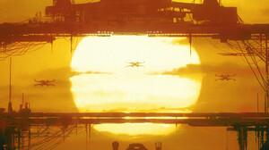 Artwork Digital Art Star Wars Ships X Wing 1920x1006 Wallpaper