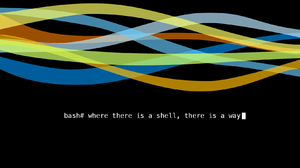 Bash Lines Linux Unix Simple Background Black Background Typography 1680x1350 Wallpaper