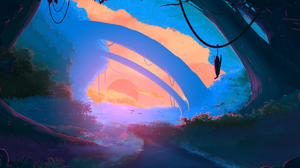 Artistic Landscape 2560x1600 Wallpaper