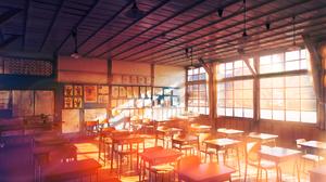 Original Anime School 1920x1280 Wallpaper