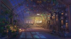 Anime Room Night ArseniXC 2515x1416 Wallpaper