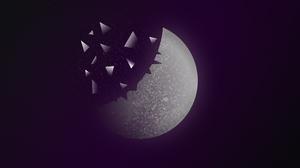 Moon Space 3000x2000 wallpaper