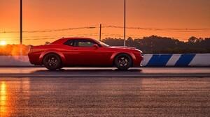 Car Dodge Dodge Challenger Dodge Challenger Srt Dodge Challenger Srt Demon Mopar Muscle Car Vehicle 2039x1360 Wallpaper