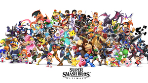 Bayonetta Bowser Bowser Jr Captain Falcon Captain Olimar Charizard Pokemon Chrom Fire Emblem Cloud S 9272x4587 Wallpaper