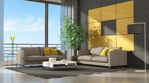 Furniture Living Room Room Sofa 5700x3046 Wallpaper