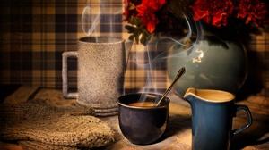 Coffee Cup Still Life 5540x3693 Wallpaper