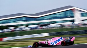 2020 Year Nico Hulkenberg Racing Point Silverstone Formula 1 Motion Blur Racing Motorsport 1920x1280 wallpaper