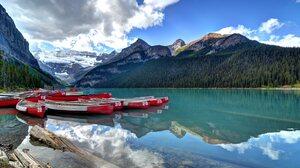 Earth Lake Louise 3840x2160 wallpaper
