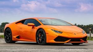 Car Lamborghini Lamborghini Huracan Orange Car Sport Car Supercar 5472x3648 wallpaper