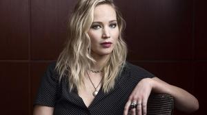 Actress American Blonde Blue Eyes Jennifer Lawrence Lipstick 3000x2000 Wallpaper