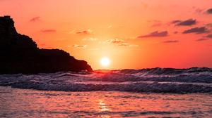Ocean Sunset 3840x2160 Wallpaper