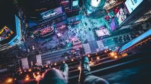 Manhattan New York Times Square 3000x2000 Wallpaper