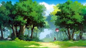 Anime Girl 2095x1080 Wallpaper