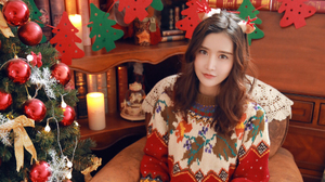 Chen Yi Fa Er Singer Asian Christmas Tree 1920x1080 Wallpaper
