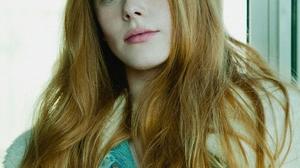 Abigail Cowen Women Actress Redhead Green Eyes Model Long Hair Women Indoors 899x1280 Wallpaper