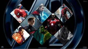 Ant Man Black Panther Marvel Comics Captain America Doctor Strange Hulk Iron Man Spider Man Thor 1920x1080 Wallpaper