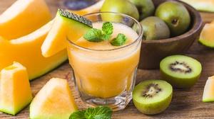 Kiwi Drink Fruit 5472x3648 Wallpaper