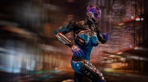Sci Fi Cyberpunk 4330x2551 Wallpaper