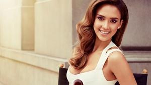 Actress American Brown Eyes Brunette Jessica Alba Smile 3000x2000 Wallpaper
