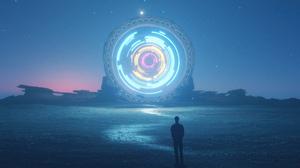 Portal Brightness 4K ArtStation Digital Art Artwork 3840x2160 Wallpaper