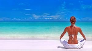 Beach Horizon Rear Sunny Turquoise 5313x3322 wallpaper