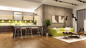 Kitchen Living Room Furniture Sofa 2500x1600 Wallpaper