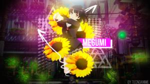 Anime Girls Saenai Heroine No Sodatekata Megumi Katou Flower In Hair Schoolgirl City Nature 1920x1080 wallpaper