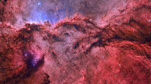 Nebula Space Red 1920x1080 Wallpaper