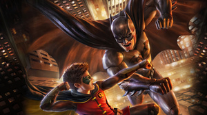 Batman Robin Dc Comics Damian Wayne 3840x2160 wallpaper