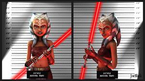 Ahsoka Tano Star Wars Girl Lightsaber Weapon Red Lightsaber Smile Belt 1920x1080 Wallpaper