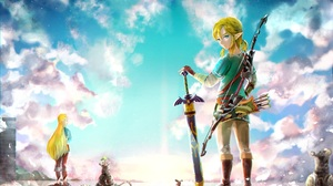 Link Zelda 1928x1124 Wallpaper