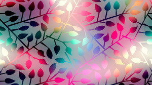 Colors Leaf Pattern 1920x1200 Wallpaper