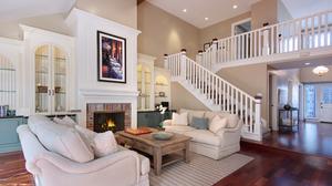 Fireplace Furniture Living Room Room 5616x3744 Wallpaper