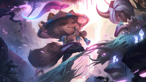 Spirit Blossom Teemo Teemo League Of Legends League Of Legends Riot Games 3840x2160 Wallpaper